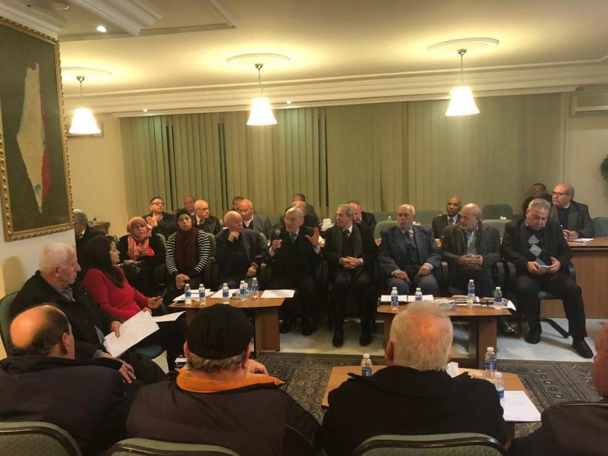 أعضاء المجلس الوطني الفلسطيني المتواجدين في الأردن يطالبون البرلمانات العربية والإسلامية بتحمل مسؤولياتها تجاه القدس