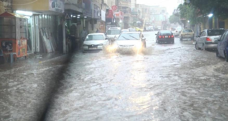 طولكرم تسجل أعلى كمية هطول مطري في محافظات الوطن