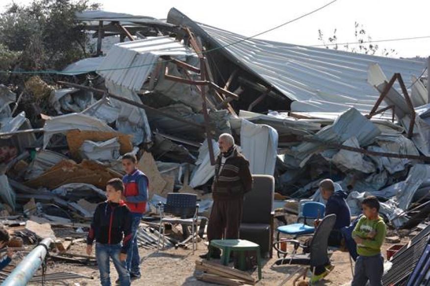 الأرض الفلسطينية المحتلة تشهد مزيداً من جرائم الحرب الإسرائيلية (29 نوفمبر 2018 - 5 ديسمبر 2018)