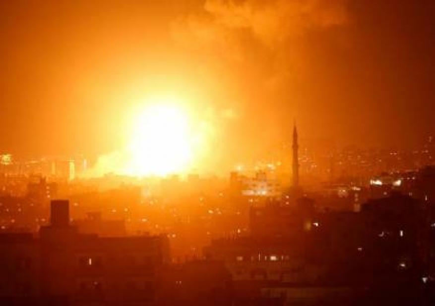 تجدد القصف على غزة وصواريخ المقاومة تصل السبع لاول مرة منذ حرب 2014