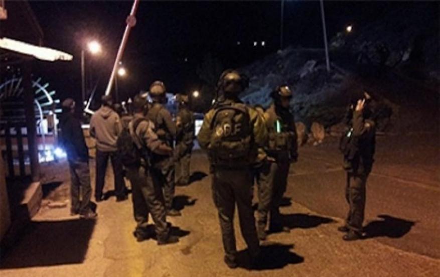 قوات الاحتلال تقتحم قرية شوشحلة جنوب بيت لحم