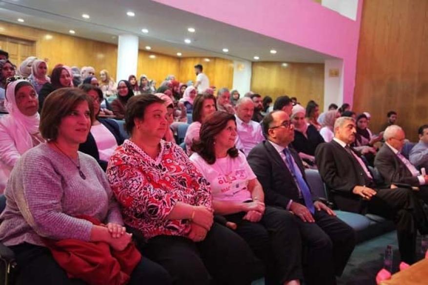 لجان العمل الصحي وجامعة القدس يطلقان فعالية الكشف المبكر حياة (3)