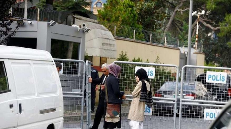 مصادر تركية: من دخلوا مبنى القنصلية أثناء وجود خاشقجي هم من الشرطة السعودية