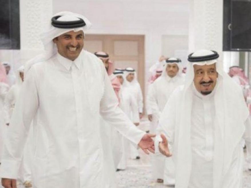 دعوة من الملك سلمان لأمير قطر لحضور القمة الخليجية