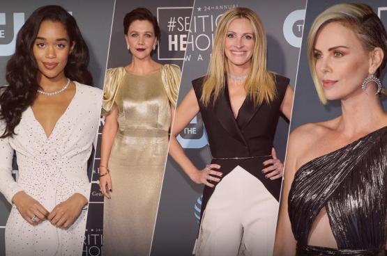 خيار النجمات من أرقى دور المجوهرات خلال حفل جوائز Critics' Choice Awards