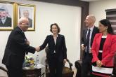 عريقات يلتقى المستشار الدبلوماسي فى الرئاسة الفرنسية ووكيل وزارة الخارجية السويسرية