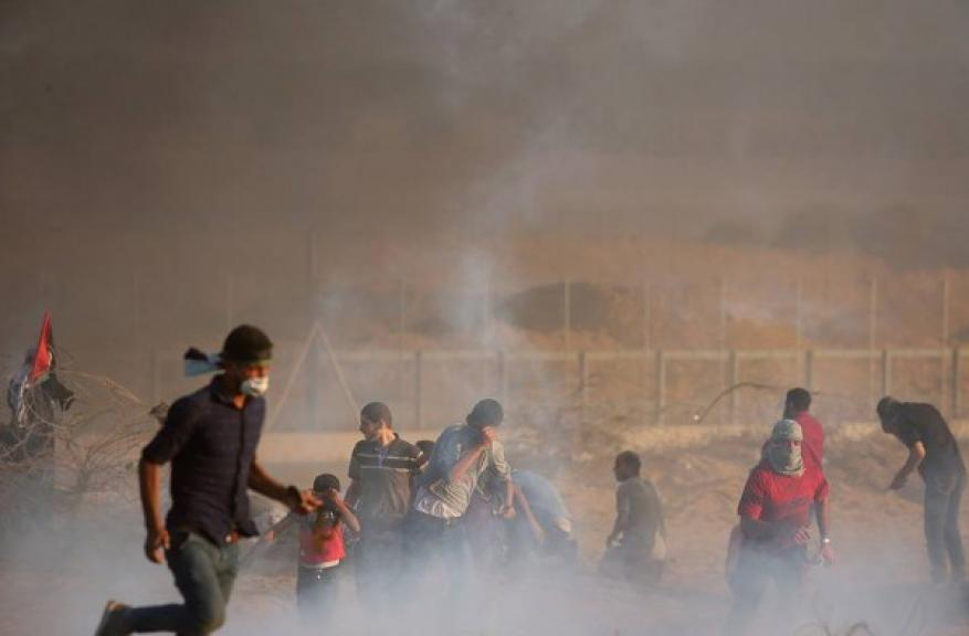 صور: محاولة اختطاف جندي اسرائيلي أودت بحياة 4 شهداء وعشرات الإصابات شرق البريج