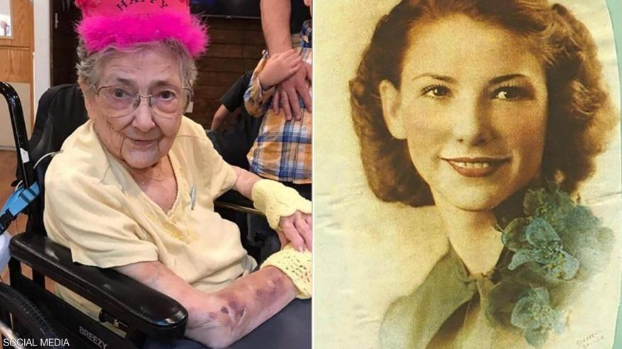 عاشت 99 عاما وأعضاؤها في الأماكن الخطأ