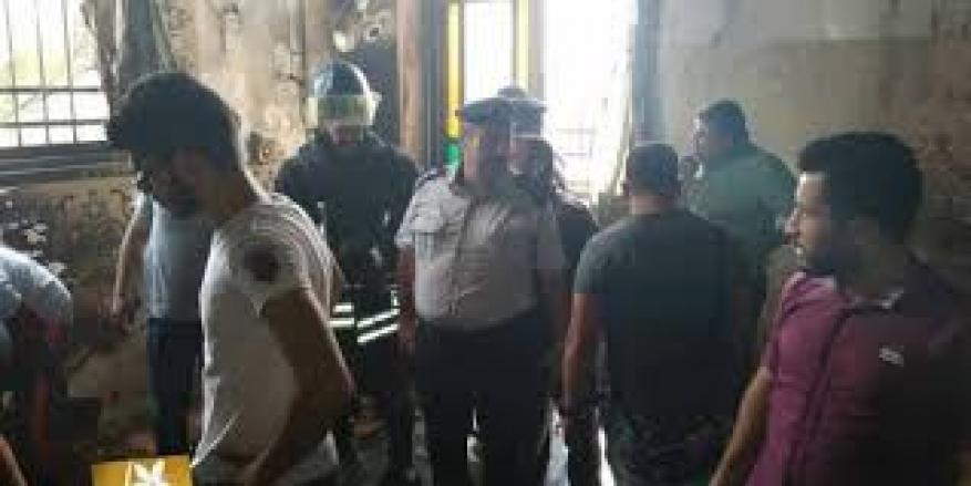 بيان توضيحي حول حرق مسجد الناقورة في مدينة نابلس