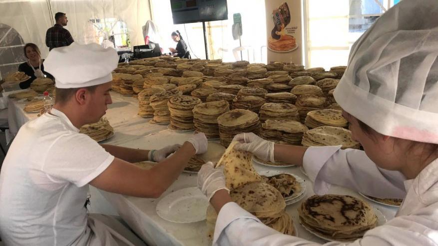 أطباق الـ كريب تُدخل المطبخ البوسني لموسوعة غينيس