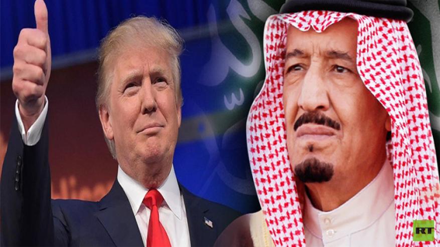 الملك سلمان يطلع مجلس الوزراء على فحوى مكالمته الأخيرة مع ترامب