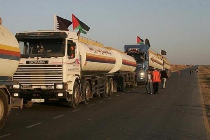 بالأدلة: مصادر تؤكد للجديد الفلسطيني دخول شاحنة سولار (قطري) واحدة فقط
