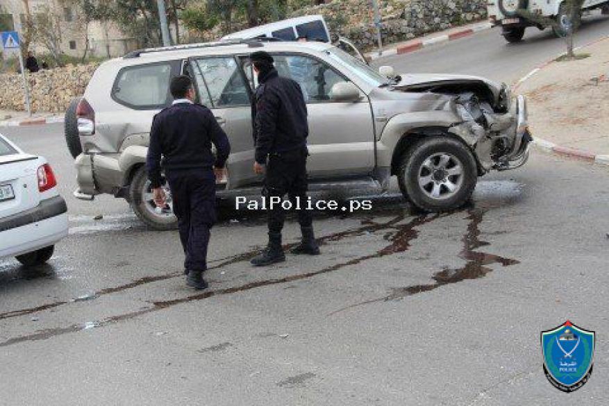 مصرع شخصين وإصابة 176 آخرين في 222 حادث سير الأسبوع الماضي .