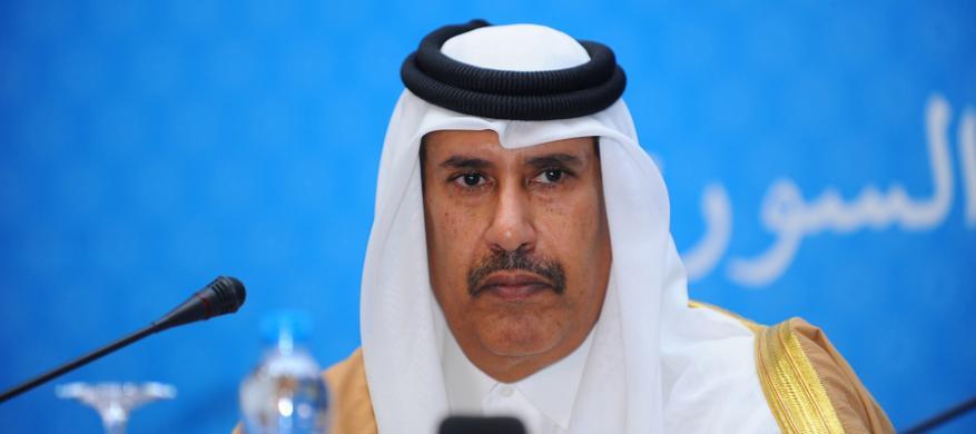 حمد بن جاسم: لقاء نتنياهو بوزراء عرب عرس جاء بعد خطوبة