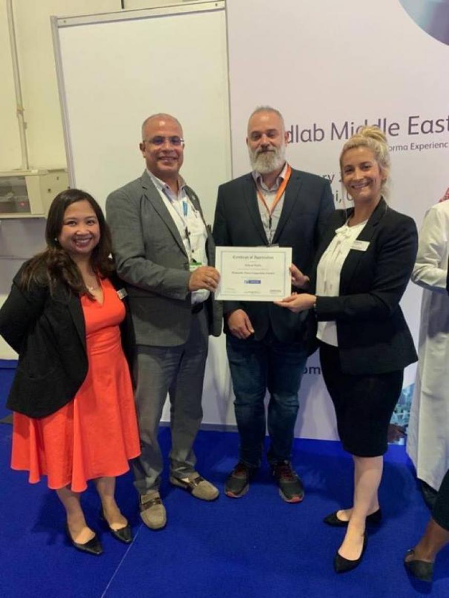 طبيب فلسطيني يحصل على أعلى درجة اعتماد وتصنيف عالمي في تطابق الأنسجة