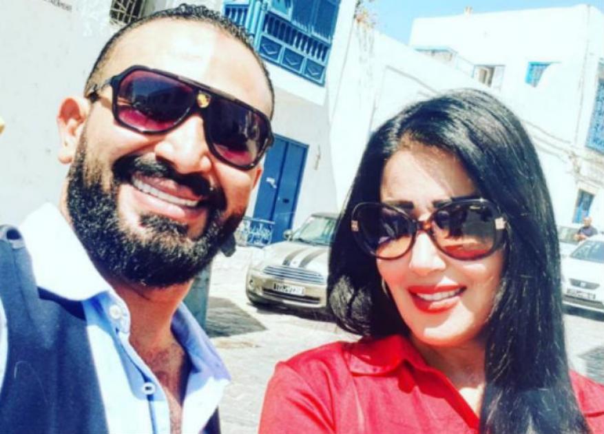 سمية الخشاب:أحمد سعد أعلن طلاقنا وهو نايم.. وعمري ما هكرهه