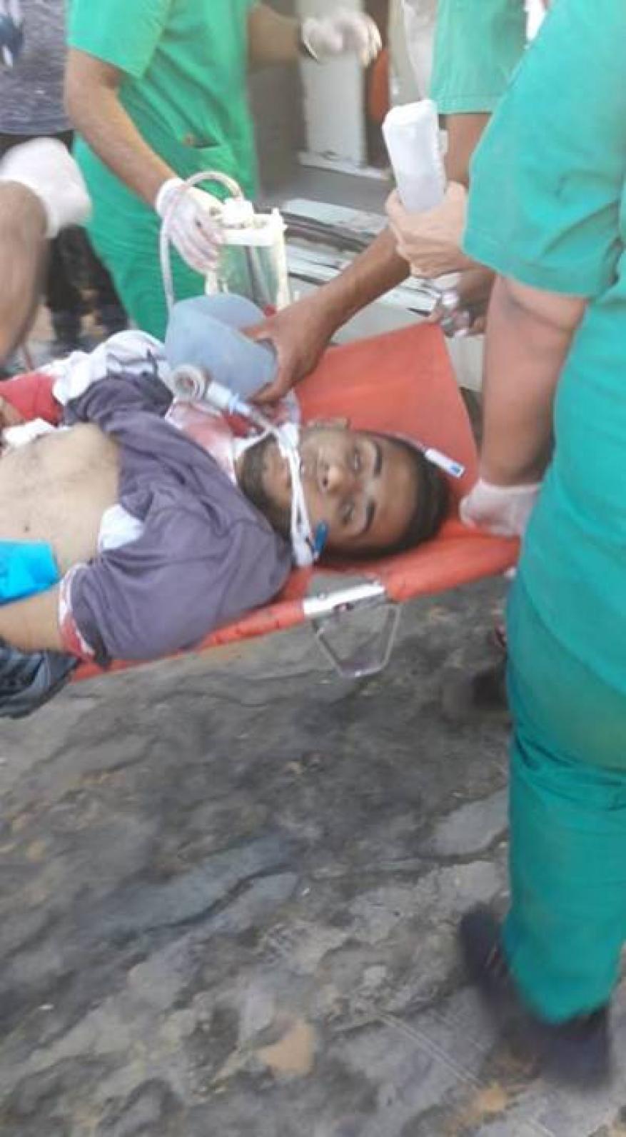 قوات الاحتلال الإسرائيلي تصعّد من جرائمها في قطاع غزة، وتستهدف المشاركين في مسيرات العودة وكسر الحصار