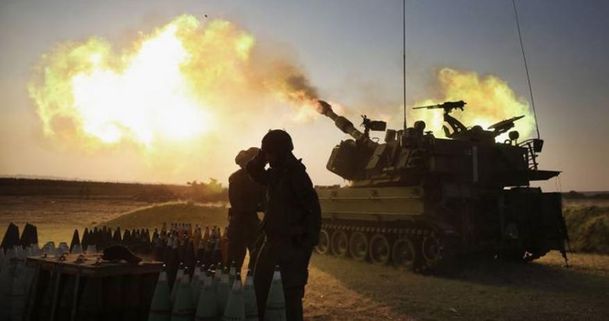مدفعية الاحتلال تستهدف نقطة للمقاومة شرق غزة