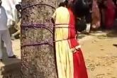مشاهد مروعة لجلد فتاة مسلمة قررت الزواج من حبيبها البوذي
