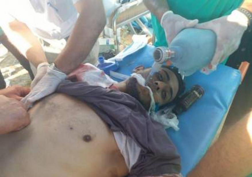 شهيدان واصابة العشرات برصاص الاحتلال في جمعة الحرية والحياة لغزة
