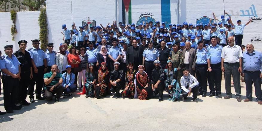 تخريج مخيم الشرطي الصغير بالتعاون مع التربية والتعليم (1)
