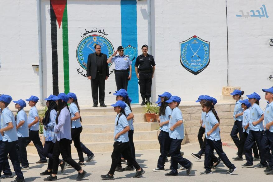 تخريج مخيم الشرطي الصغير بالتعاون مع التربية والتعليم (3)