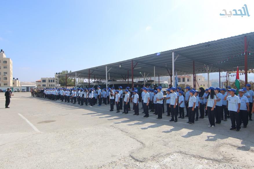تخريج مخيم الشرطي الصغير بالتعاون مع التربية والتعليم (17)