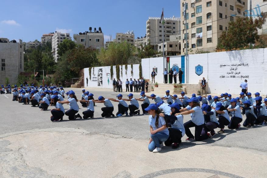 تخريج مخيم الشرطي الصغير بالتعاون مع التربية والتعليم (4)