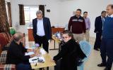 قلقيلية :جمعية أطباء حقوق الانسان تنظم يوماً طبياً في بلدة عزون عتمه.