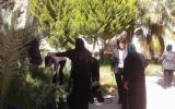 الحملة النسائية واتحاد لجان المرأة تنظمان فعالية في مقبرة الشهداء بيت لحم