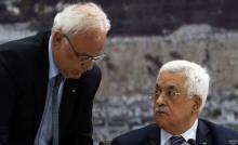 عريقات: الحكومة الإسرائيلية تتحمل المسؤولية الكاملة عن حياة الرئيس عباس