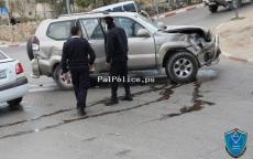 مصرع 5 أشخاص وإصابة 198 اخرين في 281 حادث سير الاسبوع الماضي