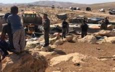 هدم قرية الخان الأحمر يفتح صفحة جديدة في سجل جرائم الاستيطان والتطهير العرقي الاسرائيلية