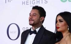 أحمد الفيشاوي في موقف رومنسي مع زوجته (صورة)