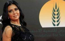 فستان رانيا يوسف يقودها إلى