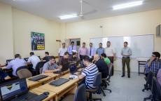 انطلاق الامتحان التطبيقي الشامل العملي في الكلية الجامعية للعلوم التطبيقية