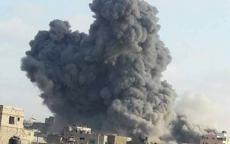 شاهد: بأكثر من 10 صواريخ.. الطيران الإسرائيلي يدمّر مؤسسة المسحال في غزة بشكل كامل