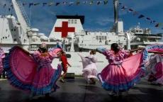 أول الغيث الصيني لفنزويلا سفينة طبّية عسكرية