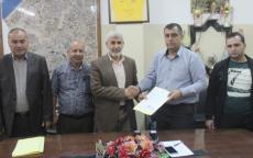 بلدية رفح توقع مذكرة بدء العمل بتطوير شوارع داخلية بحي الزيتون