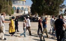 المستوطنون يجددون اقتحاماتهم للمسجد الأقصى
