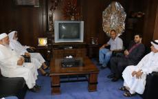 النائب د. أبو راس يلتقي مدير عام شركة توزيع الكهرباء