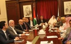 لبنان : السفراء العرب في زيارة تضامينة لسفارة دولة فلسطين