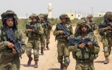 الجيش الاسرائيلي يجري تدريبات عسكرية مفاجئة في غلاف غزة