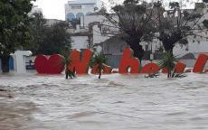 بالفيديو: فيضانات مرعبة تضرب تونس وتخلف خسائر بشرية ومادية