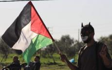محدث بالصور:استشهاد مواطنة وإصابة العشرات برصاص الاحتلال على حدود غزة