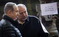خلاف بين نتنياهو وليبرمان بسبب شن عملية عسكرية بغزة خلال توجيهي إسرائيل