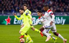 ملخص ونتيجة مباراة برشلونة وليون اليوم في دوري ابطال اوروبا