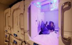 الكبسولة الفندقية.. تجربة سعودية لحج المستقبل (فيديو)