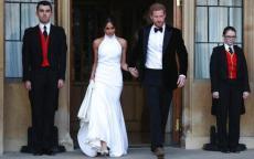 ميغان ماركل تختار فستاناً من ستيلا ماكارتني لحفل الاستقبال