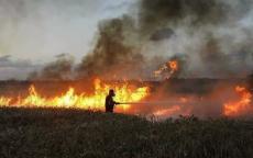 اندلاع 17 حريقاً في مستوطنات